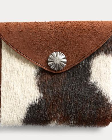 Suede-Haircalf Wallet
