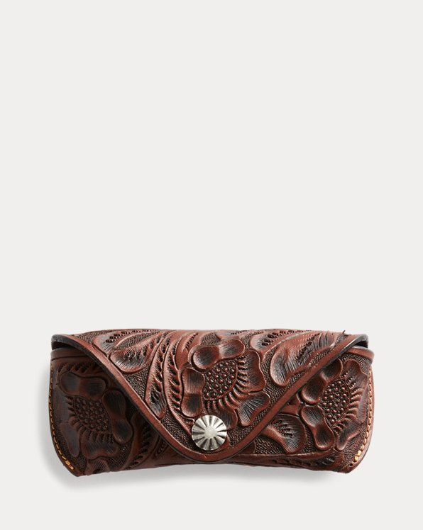 Hand-Tooled Eyeglass Case