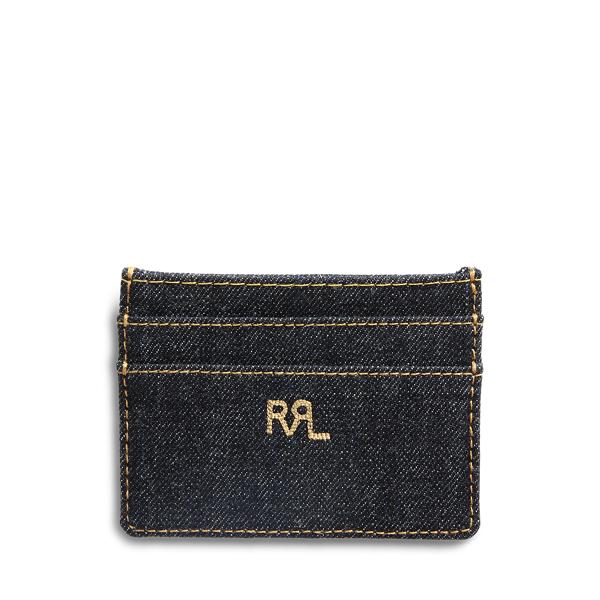Polo Ralph Lauren Indigo Denim Card Holder