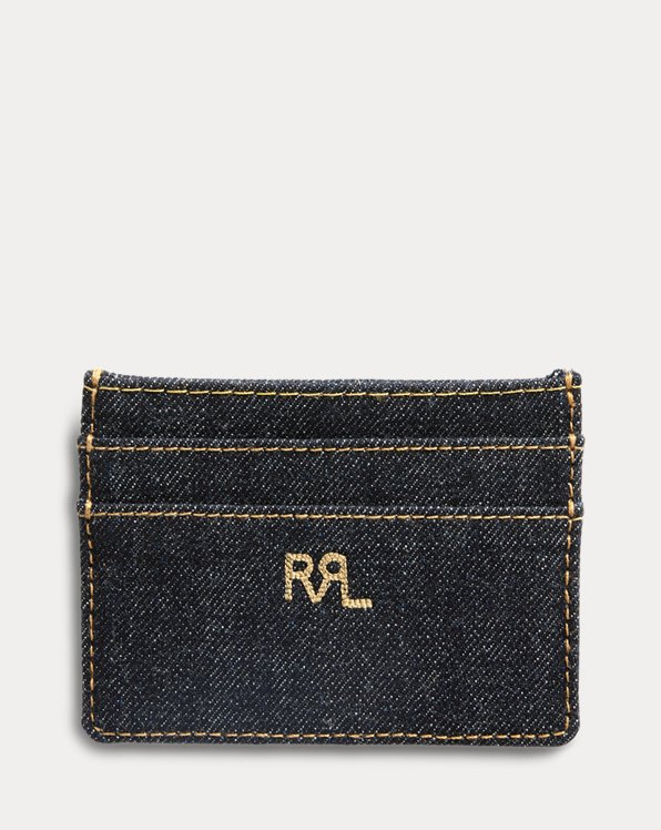 Indigo Denim Card Holder