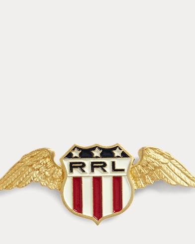 Winged-Logo-Shield Pin