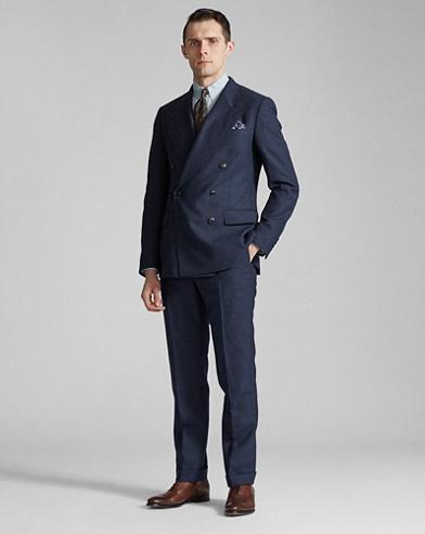 Plaid Dobby Suit Jacket