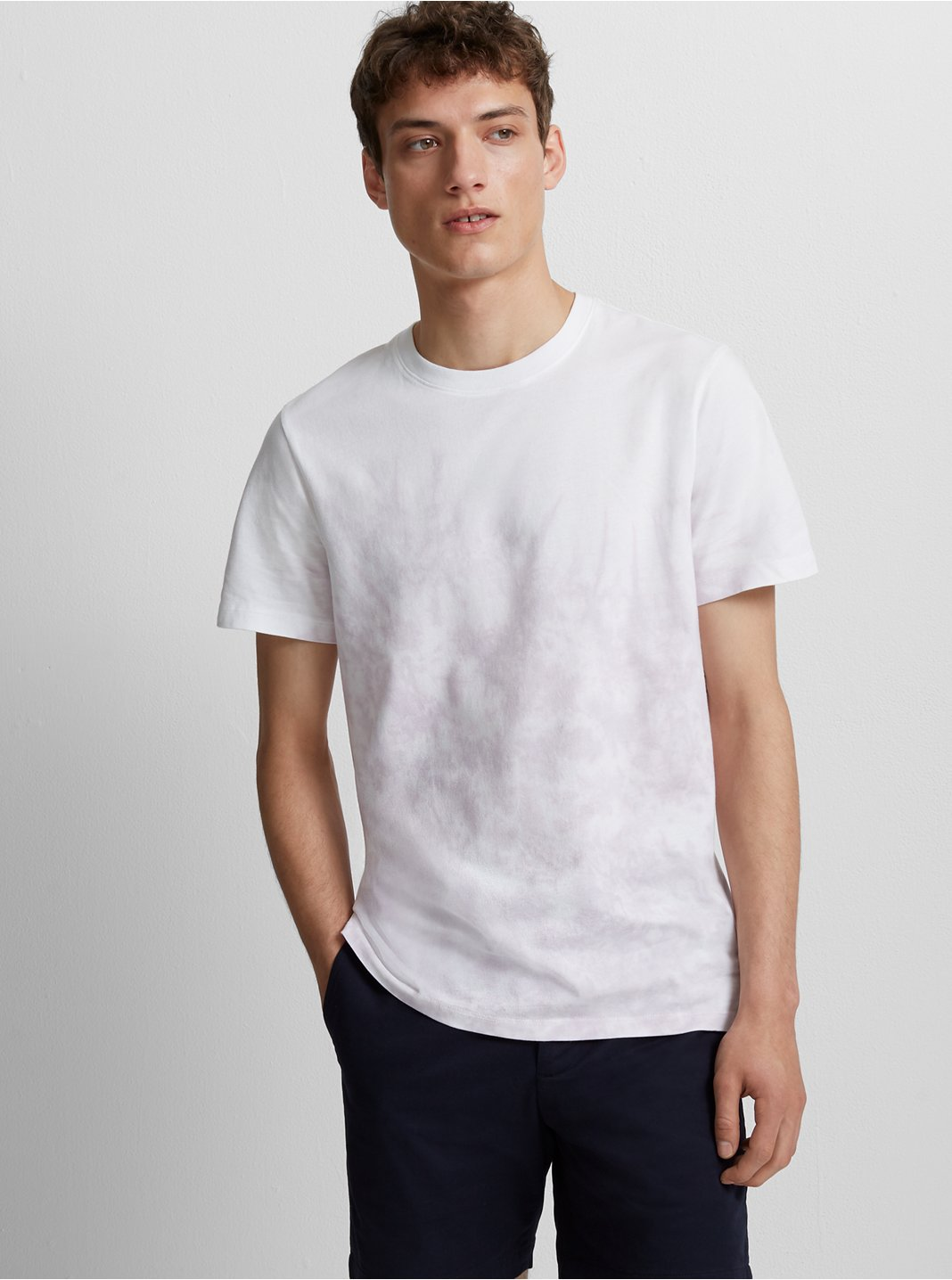 Short Sleeve Dip-Dye Shirt