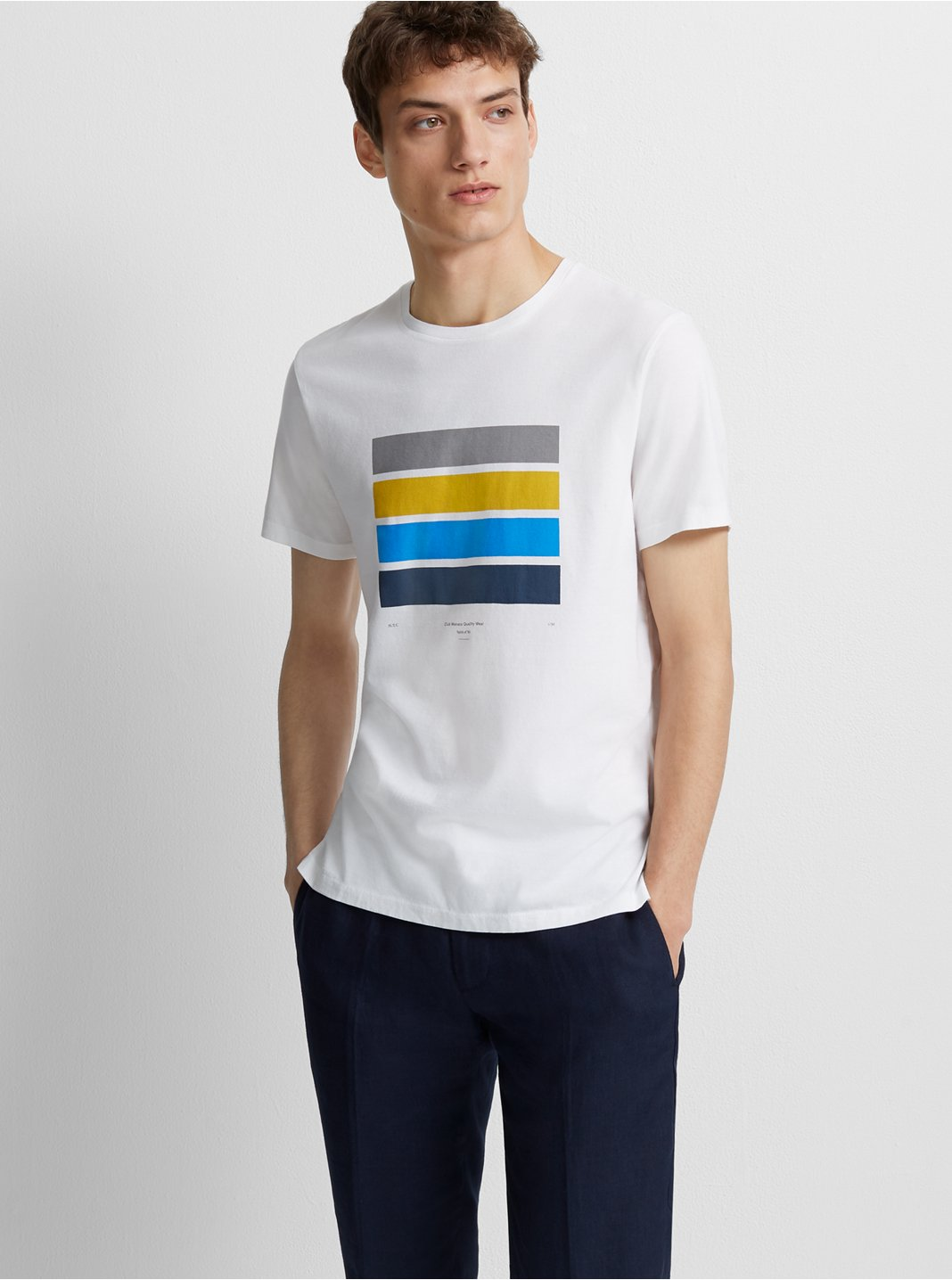 Blocked Graphic Tee