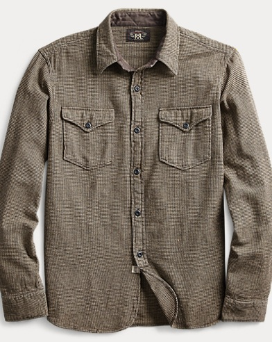 Houndstooth Twill Workshirt