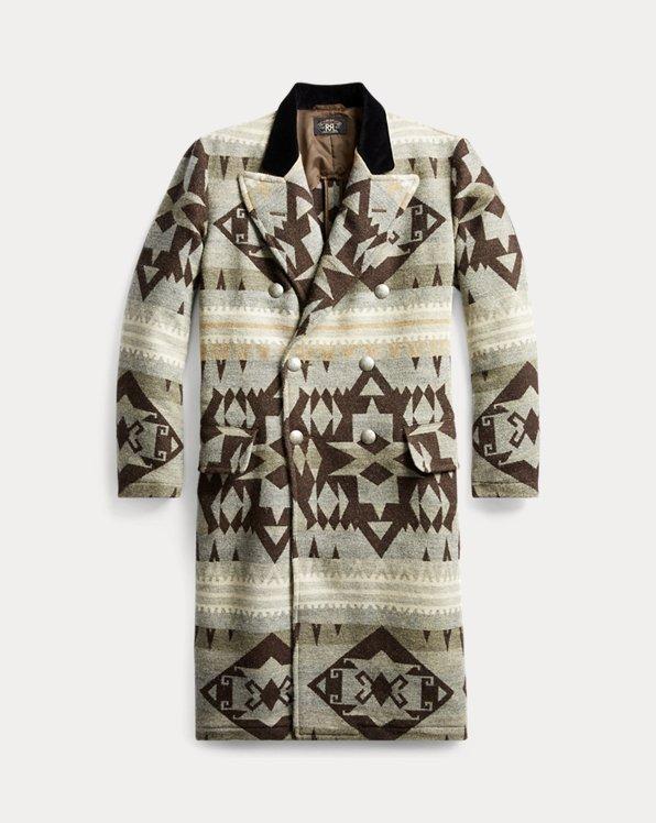 Mantel mit Samtkragen