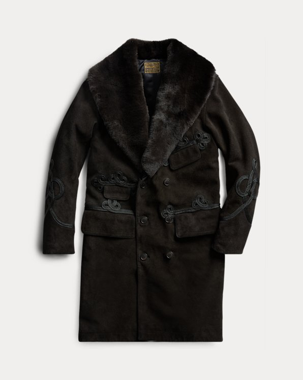 Limited-Edition Suede Topcoat