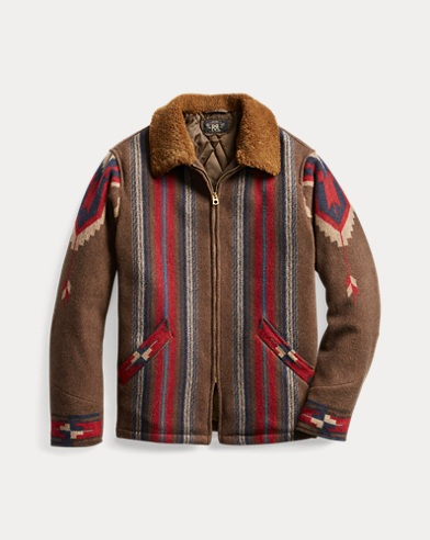 Shearling-Collar Ranch Jacket