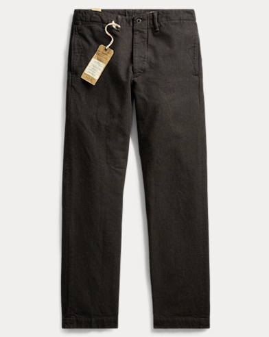 Denim Officer's Pant