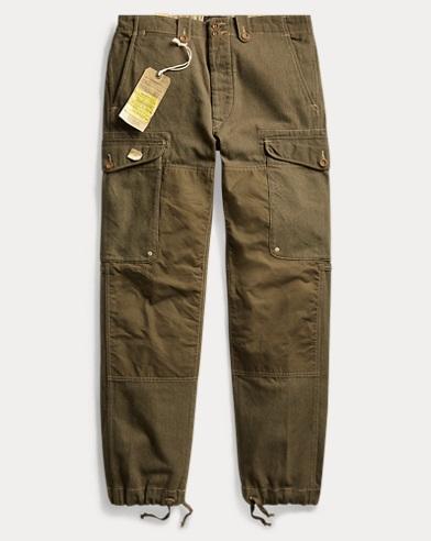 Wool-Blend Cargo Pant