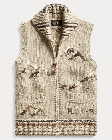 Hand-Knit Sweater Vest