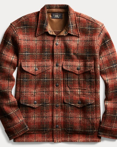 Plaid Workshirt Sweater