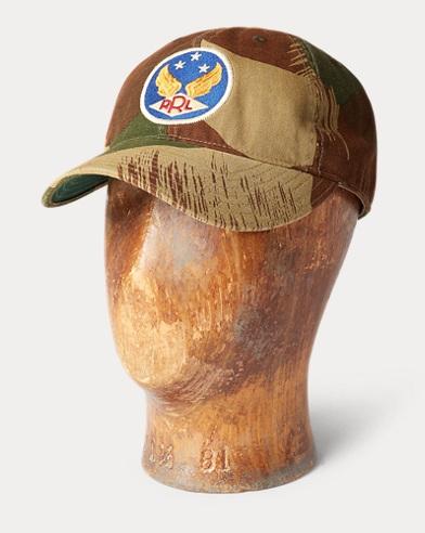 Camo Herringbone Ball Cap