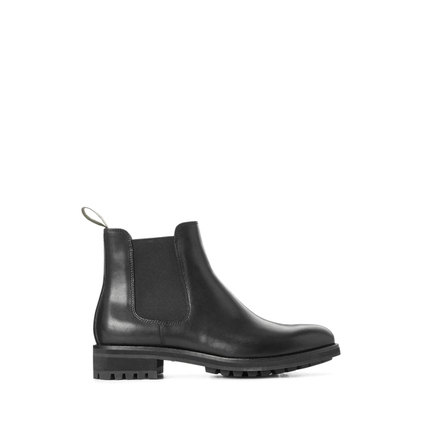 폴로 랄프로렌 첼시 부츠 Polo Ralph Lauren Bryson Leather Chelsea Boot,Black