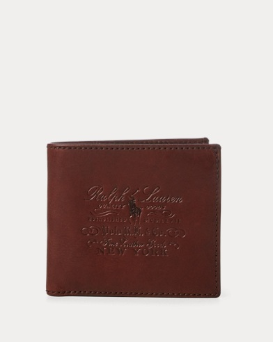 53a87db13fa5 Men's Wallets, Card Holders, & Leather Goods | Ralph Lauren