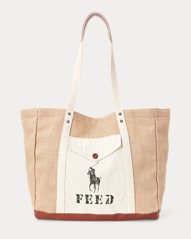 Polo x FEED Tote Bag