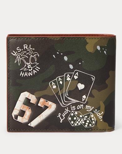 669a61309713a Men's Wallets, Card Holders, & Leather Goods | Ralph Lauren