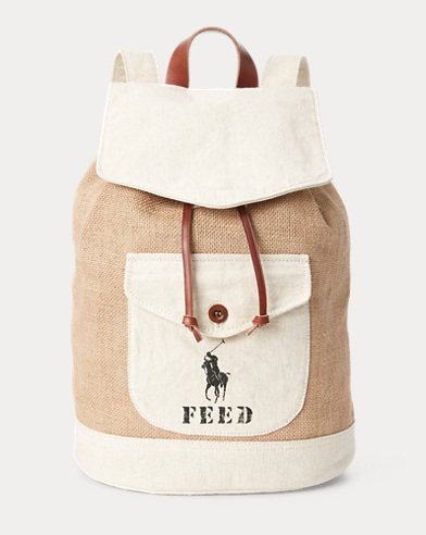 Polo x FEED Backpack