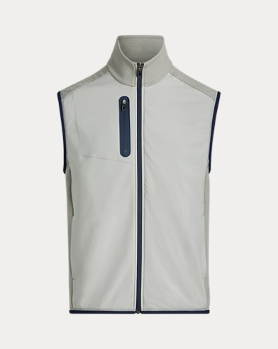 Stretch-Panelled Golf Gilet