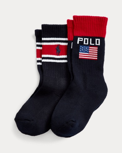 Polo Sport Crew Sock 2-Pack