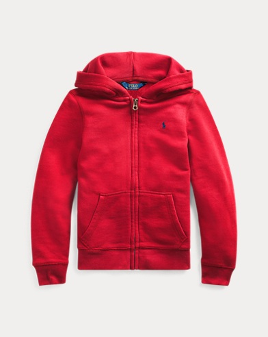Cotton-Blend Terry Hoodie