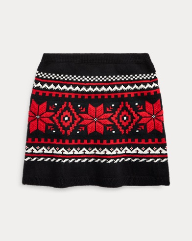 Fair Isle Jumper Skirt