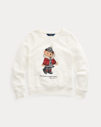Holiday Bear Terry Pullover
