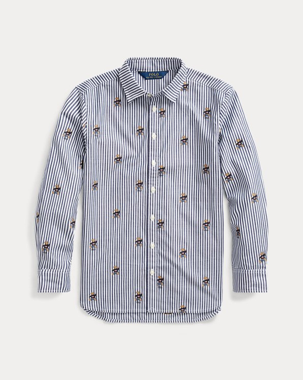 Jumper Bear Cotton Shirt