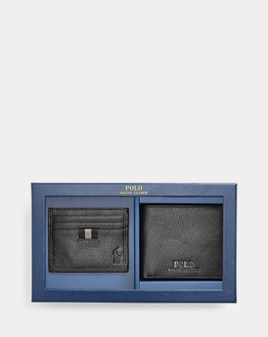 Billfold & Card Case Gift Set