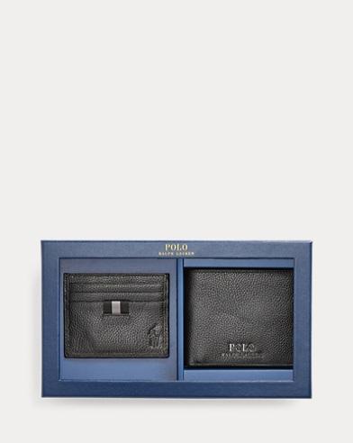 Set de regalo con billetera y tarjetero