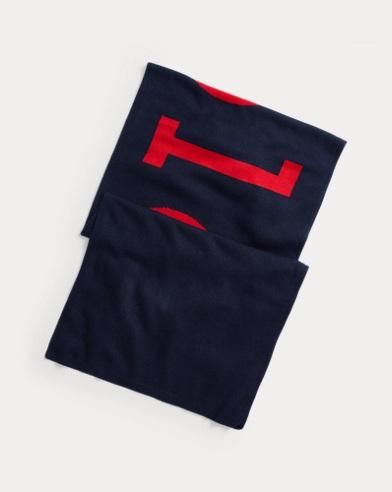 Bufanda con logotipo vintage