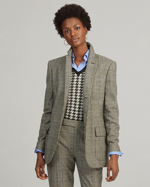 Polo Ralph Lauren Glen Plaid Wool-Blend Blazer 1