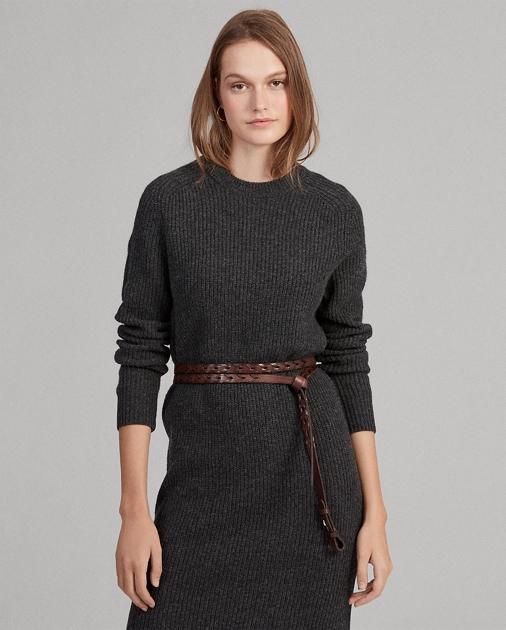 Polo Ralph Lauren Wool-Blend Sweater Dress 1