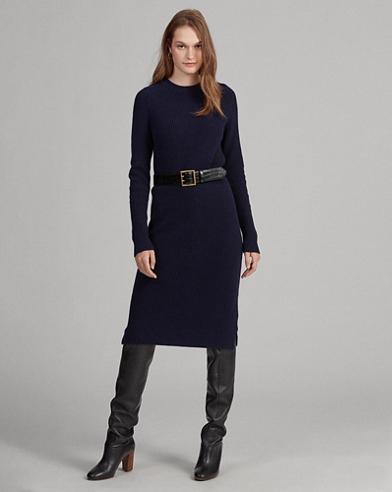 Wool-Blend Jumper Dress