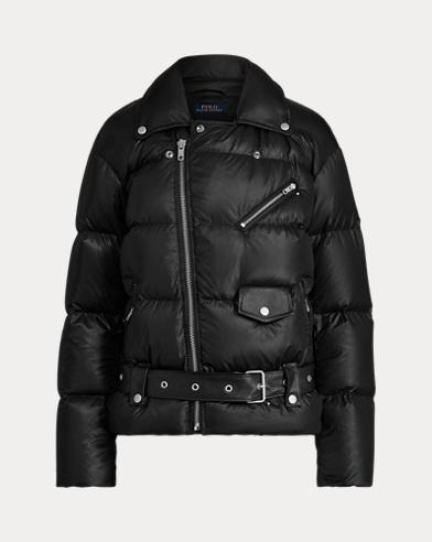 Moto Down Jacket