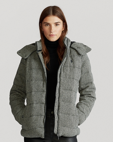 Herringbone Down Jacket