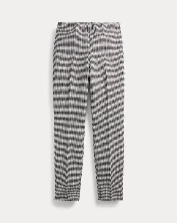 Houndstooth Skinny Trouser