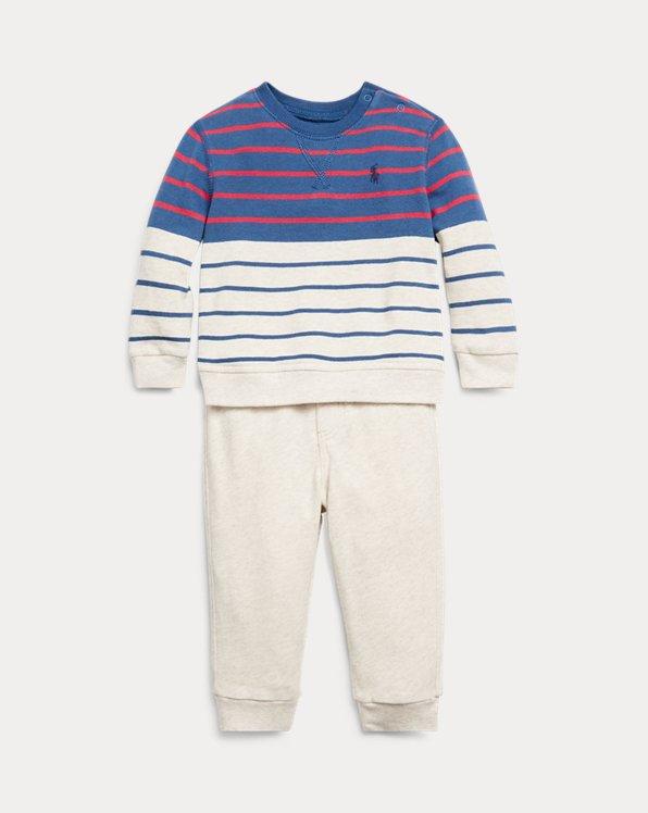 Set aus Terry-Sweatshirt und Hose