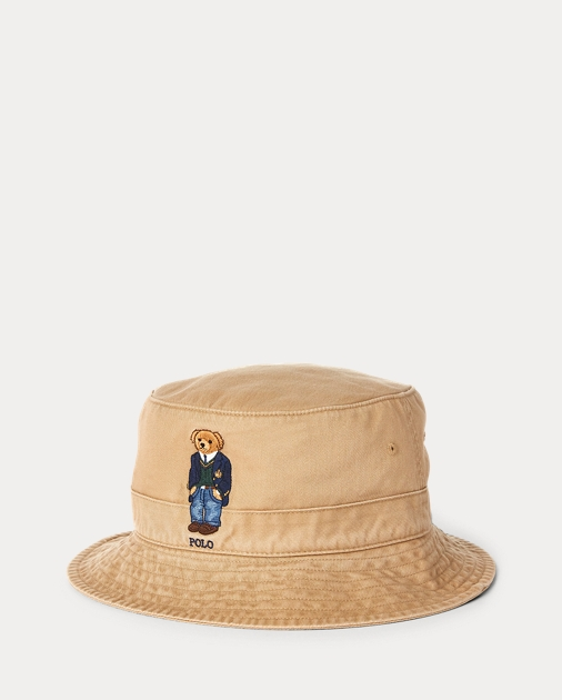 b87e02563 Polo Bear Bucket Hat