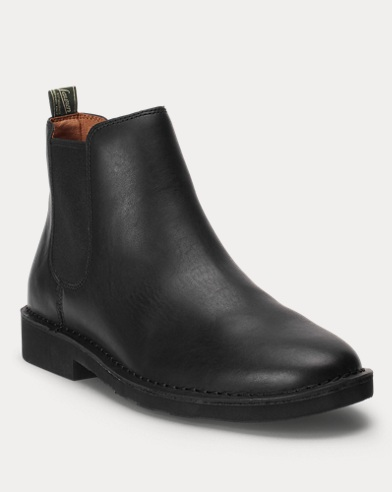 9e95293ded6 Mens Designer Boots | Leather Chelsea Boots | Ralph Lauren UK