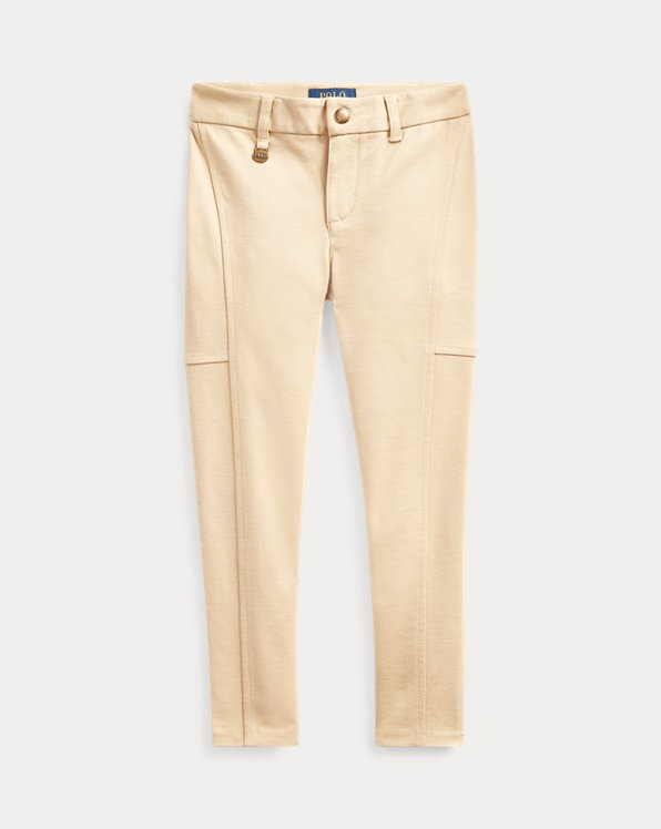 폴로 랄프로렌 여아용 레깅스 Polo Ralph Lauren Stretch Cotton-Blend Legging,Fall Khaki