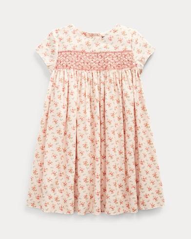 Floral Smocked Cotton Dress