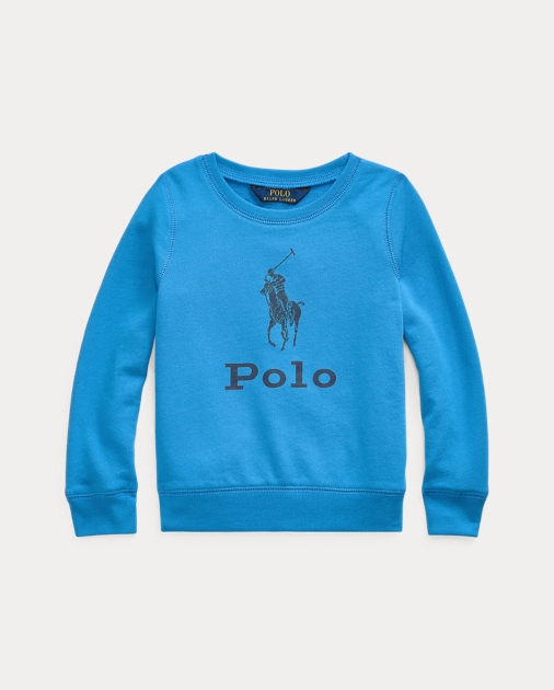 Girls 2-6x Big Pony French Terry Pullover 1