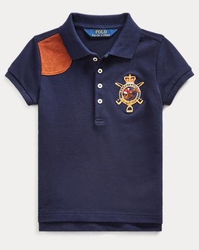 33ee1ebd656ca Girls' Polo Shirts - Long & Short Sleeve Polos | Ralph Lauren