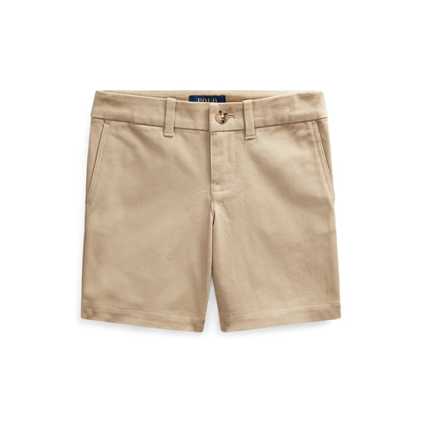 폴로 랄프로렌 여아용 반바지 Polo Ralph Lauren Stretch Chino Bermuda Short,Classic Khaki