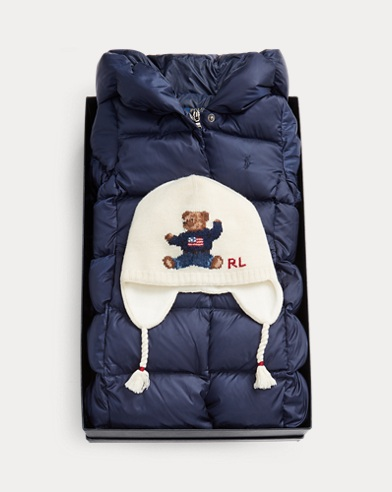 Bear Cotton Earflap Hat