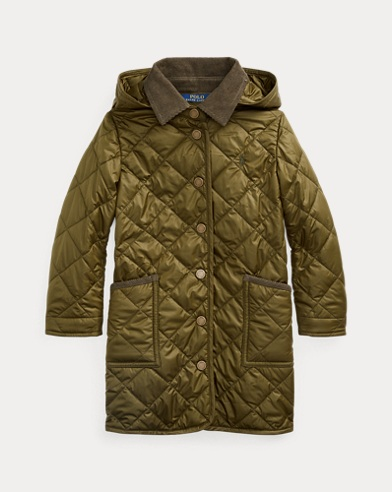 Long Quilted Barn Jacket