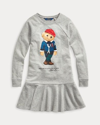 Cardigan Bear Terry Dress