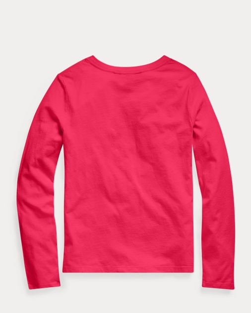 GIRLS 7-14 YEARS Cotton Long-Sleeve Logo Tee 2