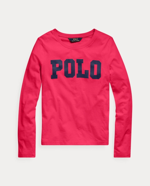 GIRLS 7-14 YEARS Cotton Long-Sleeve Logo Tee 1